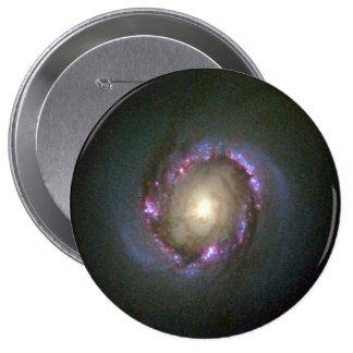 Close-Up View of Galaxy NGC 4314 Pin