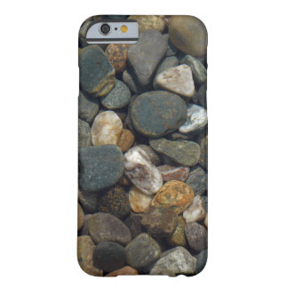 Close Up View of Gray, Brown, and White Stones Barely There iPhone 6 Case