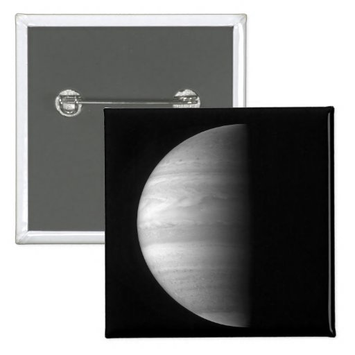 Close-up view of the planet Jupiter Button