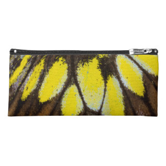 Close-up Wing Pattern of Tropical Butterfly Pencil Case