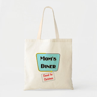 Closed for Christmas Mom s diner t-shirts gifts Bag