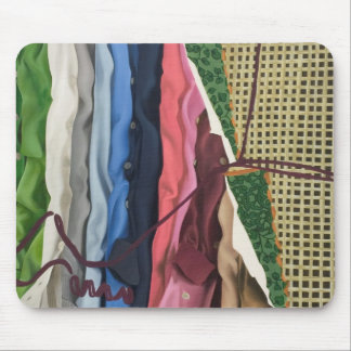 Closet Collage Painting Mousepad