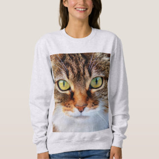 CLOSEUP Big CAT FACE T-shirts & sweatshirts