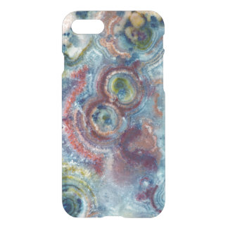 Closeup Mineral Stone Colorful Pattern iPhone 8/7 Case