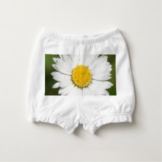 Closeup Of A Beautiful Yellow And Wild White Daisy Diaper Cover