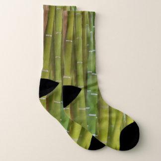 Closeup of bamboo stalk socks