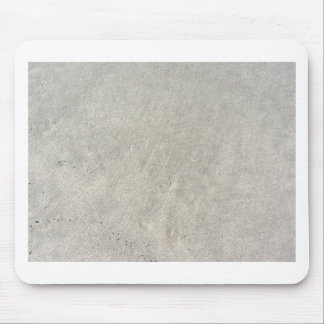 Closeup of beach sand texture background mouse pad