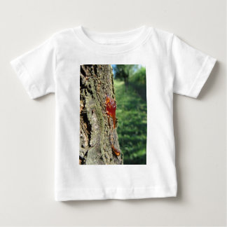 Closeup of pear tree excretion of gummy resin baby T-Shirt