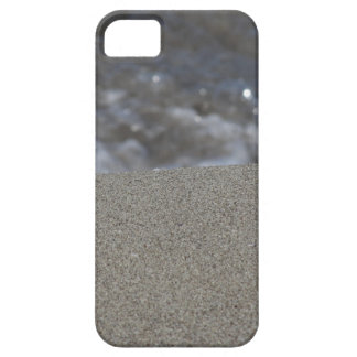 Closeup of sand beach with sea blurred background case for the iPhone 5