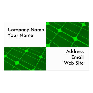 Closeup of Solar Panels Double-Sided Standard Business Cards (Pack Of 100)