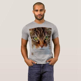 CLOSEUP Tabby CAT FACE T-shirts