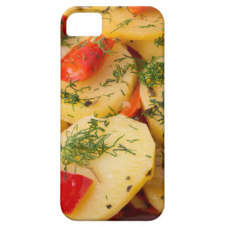 Closeup view of a vegetarian dish of natural iPhone 5 cases