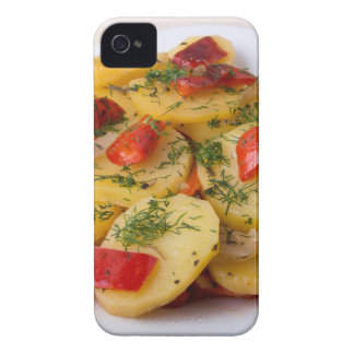 Closeup view of stewed potatoes Case-Mate iPhone 4 case