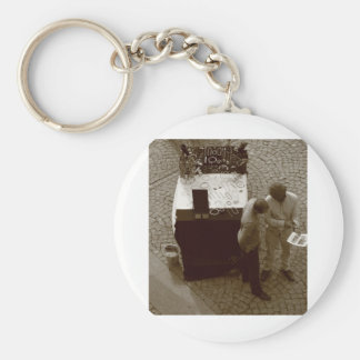 Closing the Deal Basic Round Button Keychain
