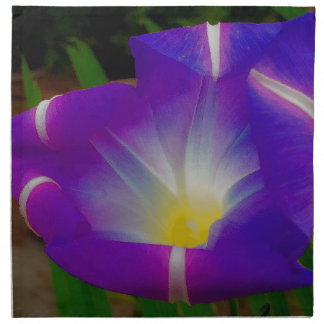 Closing Time for Morning Glories Napkin