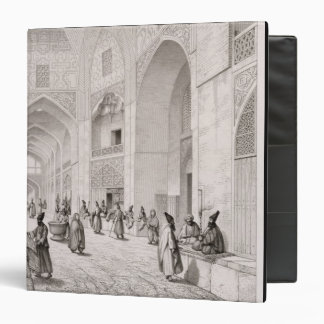Cloth Market, in Isfahan, from 'Voyage Pittoresque 3 Ring Binder