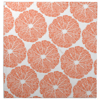 Cloth Napkins - Grapefruit to Suit