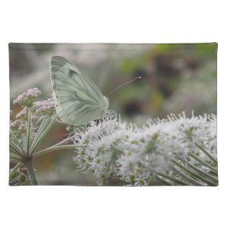 cloth placemat Cabbage White Butterfly pic