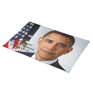 Cloth Placemat PRESIDENT OBAMA