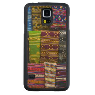 Cloth Textiles For Sale Carved Maple Galaxy S5 Case