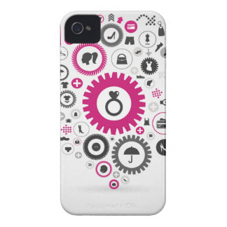 Clothes a gear wheel Case-Mate iPhone 4 cases