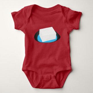 Clothes of tofu baby bodysuit