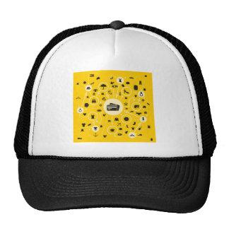 Clothes the scheme trucker hat