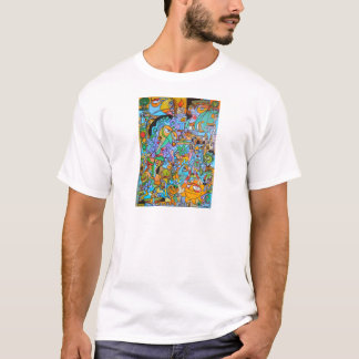 Clothes with The Sun Ride by Lorenzo Traverso T-Shirt
