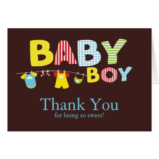 Thank you baby boy