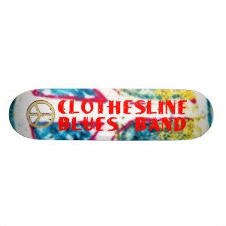 Clothesline Blues Band - Peace Skateboard