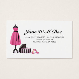 Clothing Alteration Services Business Card