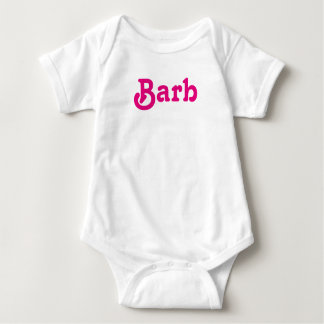 Clothing Baby Barb Baby Bodysuit