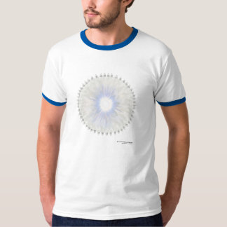 Clothing with Crown Chakra T-Shirt