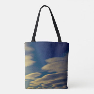 Cloud Abstract Tote
