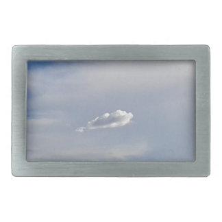 Cloud And Cloud Rectangular Belt Buckle