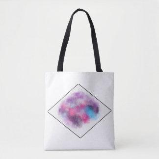 Cloud and diamond bag