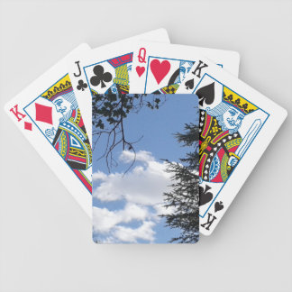 Cloud And Trees Bicycle Playing Cards