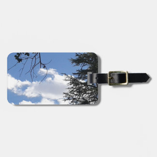 Cloud And Trees Luggage Tag
