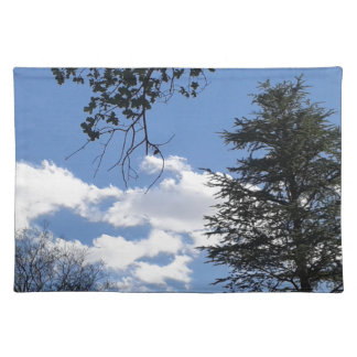 Cloud And Trees Placemat