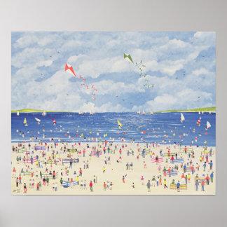 Cloud Beach Poster