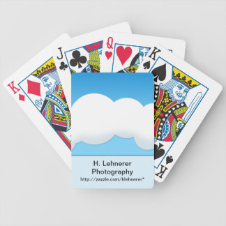 Cloud Bicycle Playing Cards