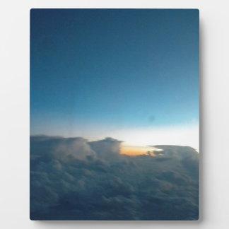 cloud birds plaque
