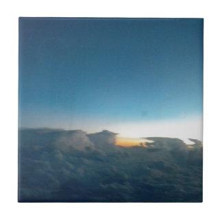 cloud birds tile