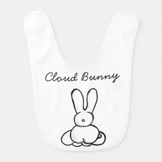 Cloud Bunny Bib