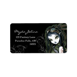 """Cloud Burst"" Steampunk Aviatrix Fairy Labels"