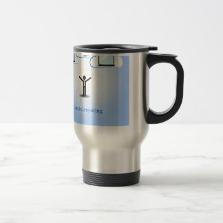 Cloud Computing Concept Travel Mug