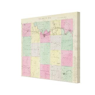 Cloud County, Kansas Stretched Canvas Prints