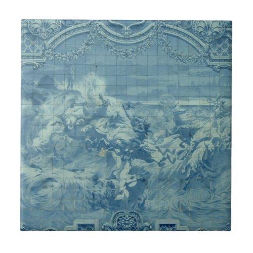Cloud Dance - Azulejo tile