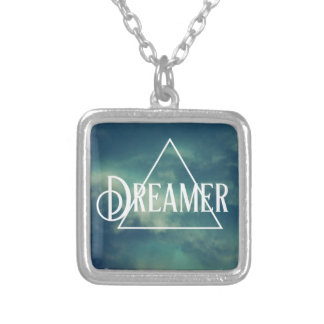 Cloud Dreamer Silver Plated Necklace
