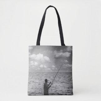 Cloud Fisher Tote Bag